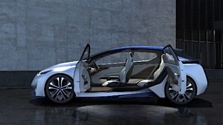 材料图:无人驾驭汽车