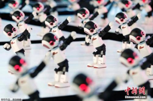 资料图:人工智能机器人