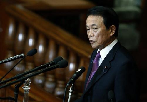 资料图:日本副首相兼财务相麻生太郎