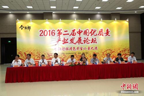 2016第二届中国优质麦产业发展论坛召开