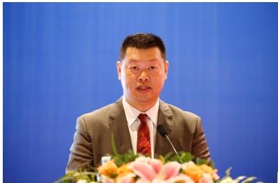 浙江吉利汽车研究院有限公司副院长胡峥楠致辞