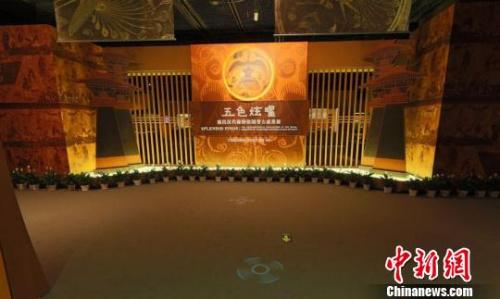 图为南昌汉朝海昏侯国遗迹博物馆网上博物馆虚构展厅。 刘占昆 摄