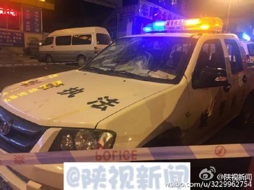 西安城管执法过程中与商户爆发冲突 致城管1死6伤