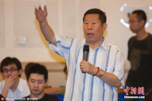 """据北京人民艺术剧院官方网站消息,中国共产党党员、中国戏剧家协会会员、北京人民艺术剧院一级演员、退休干部韩善续同志,于2016年6月19日上午11时45分病逝,享年79岁。  韩善续曾参演60余部话剧,50余部电影。曾出演话剧《雷雨》里的鲁贵、电视剧《西游记》里的""""刘洪""""、《甄三》里的高阔亭、《天下第一楼》中的""""罗大头""""等角色。图为韩善续资料图。图片来源:东方IC 版权作品 请勿转载"""