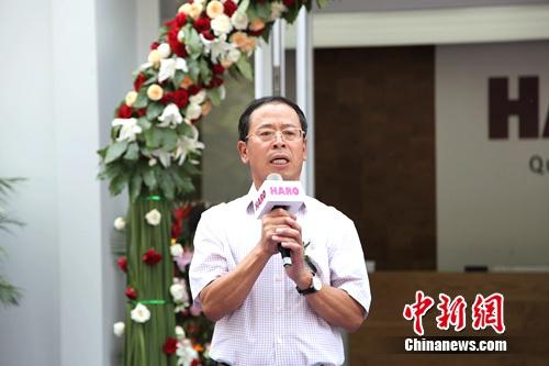 汉诺中国董事长兼总裁陈镇鑫