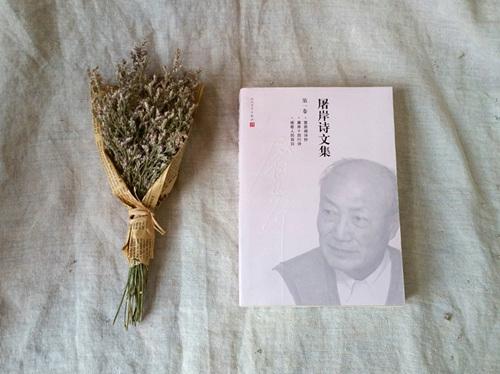 《屠岸诗文集》单本书影。人民文学出版社供图。