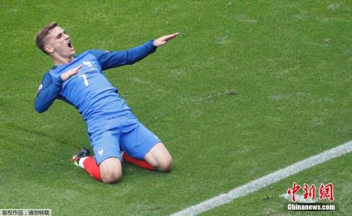 淘汰赛连续进球的格列兹曼,欧洲杯单届进球达到6粒,几乎锁定了今年的大赛金靴