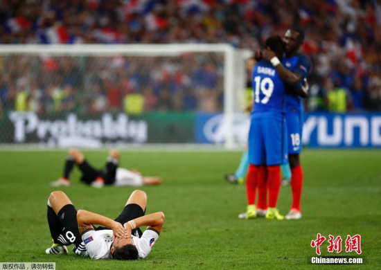 在淘汰德国队的比赛中,乌姆蒂蒂经受住了考验