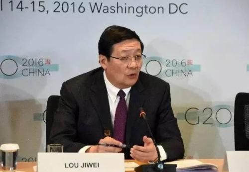 针对惠誉与穆迪先后下调中国主权信用评级展望,中国财政部长楼继伟今年4月在美国表示,如是做法并未反映中国经济的实际情况。中新社发 刁海洋摄