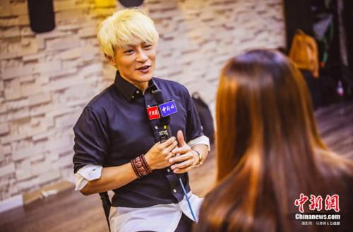 陈志朋接受记者专访,畅谈工作、感情生活 来源:艺人方提供