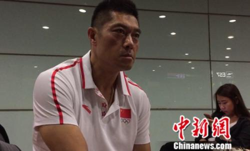 男举总教练于杰展望奥运征途信心满满。