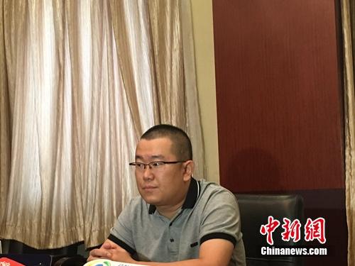 戴九安公开与赵云侠电话录音。 李萌 摄