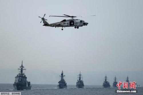 资料图:日本自卫队演习