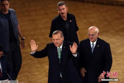 材料图:土耳其总统埃尔多安