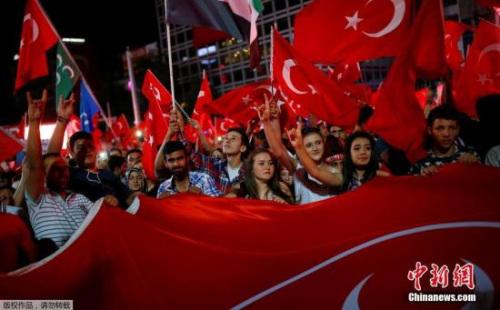 土耳其民众抗议