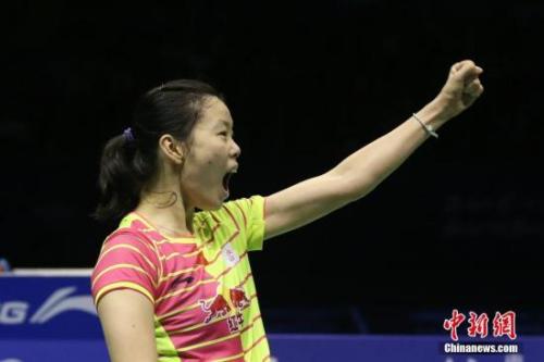 资料图:中国队选手李雪芮。 记者 韩海丹 摄