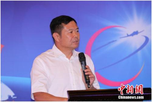中国民航局副局长李健致辞。