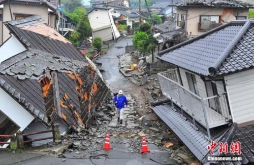 材料图:熊本灾地