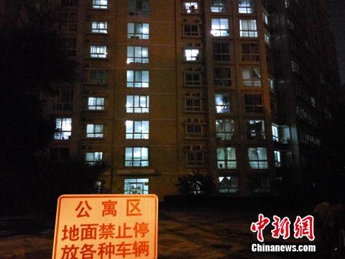 图为北京某高校宿舍楼。吕春荣 摄