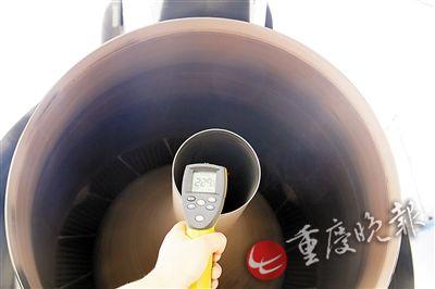 40℃高温算啥?看229℃在飞机发动机旁工作(图)