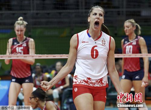 塞尔维亚女排率先挺进决赛