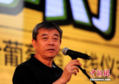 """国家酒业协会理事长王延才列席""""小萄""""下线典礼"""