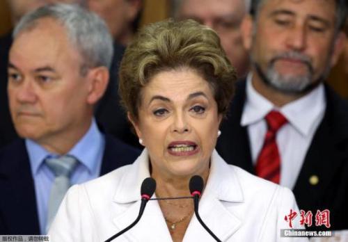 巴西首位女总统被弹劾罢免  潘基文罕见发声