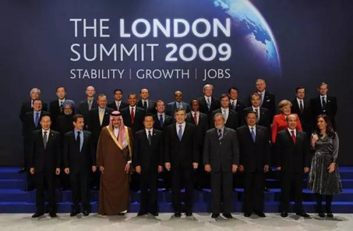 2009年4月,G20第2次指导人峰会在英国都城伦敦举办。 图像来改过华社