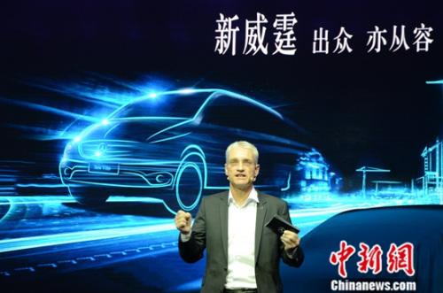 福建奔驰汽车工业有限公司总裁兼首席执行官郭鹏凯博士