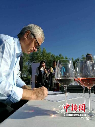 比利时布鲁塞尔国际酒类大奖赛主席卜度安哈弗