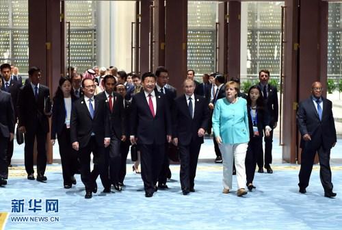 9月4日,二十���F�w指��人第十一次峰��在杭州世界博�[核心�e�k。��度主席�近平掌管���h并致揭幕�o。�@是二十���F�w成�T和佳�e��指��人、有�P世界�M���任人步入���觥P氯A社�者李���z
