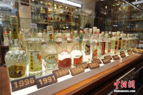 资料图:中国首家民办酒文化博物馆在长春市揭牌。张瑶 摄