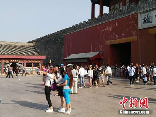 故宫院长鼓励拍照:希望游客