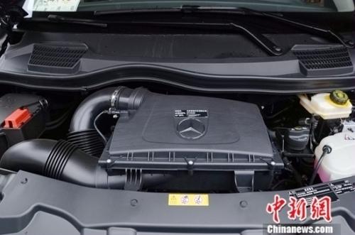 新威霆搭载梅赛德斯-奔驰M274 2.0T汽油发动机