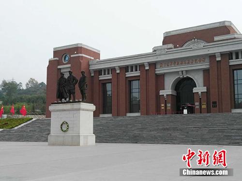 陕甘边反动依据地照金留念馆。中新网记者 宋宇晟 摄