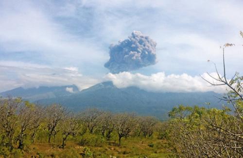 印尼火山爆发超250名登山客下路不明 多为外籍