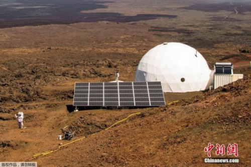 资料图:此前科学家模拟火星之旅