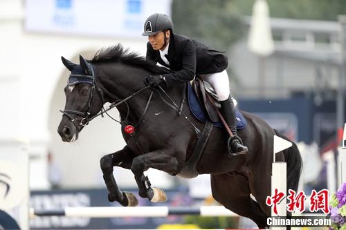 110-120CM分段赛冠军秦林