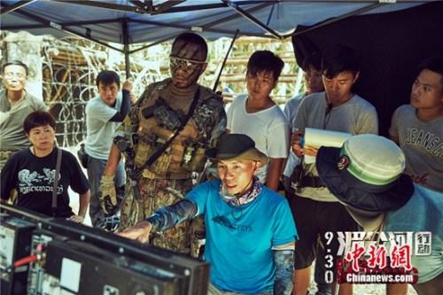 《湄公河行动》拍摄现场 片方供图