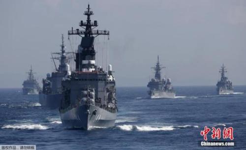 材料图:日本侵占队舰艇