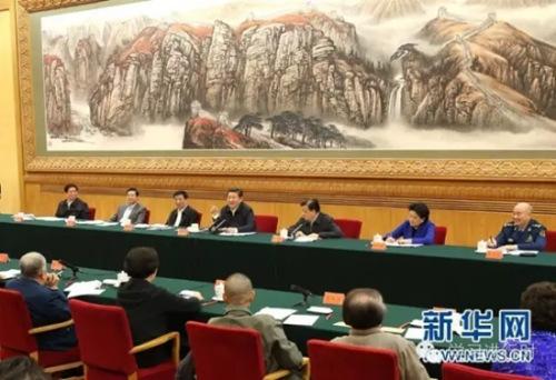 2014年10月15日,中共中心总布告、国度主席、中心军委主席习近平在北京掌管举行文艺事情座谈会并揭晓紧张发言。 新华社记者 庞兴雷 摄