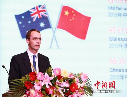 澳大利亚驻华大使馆商务参赞、出资专员马炎
