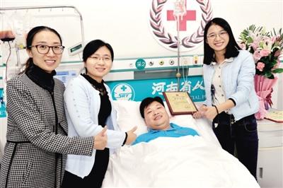 教师捐献造血干细胞救5岁女孩:最好的出生礼物