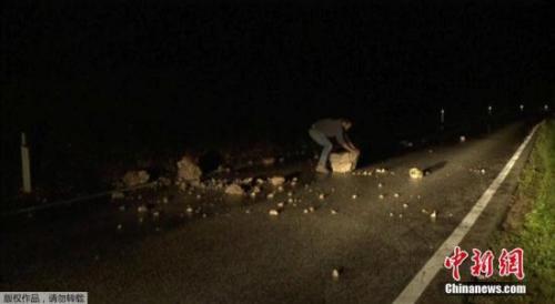 意大利中部发生多次地震 建筑物倒塌至少1人伤