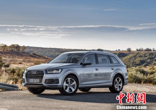 奥迪Q7 e-tron展现超高燃油效率,融合运动性能、舒适驾乘和高效性能于一身