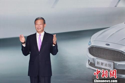 长安福特汽车有限公司市场销售服务副总裁刘曰海致辞
