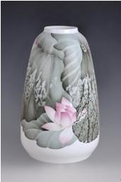 现场展品。北京国中陶瓷艺术馆供图