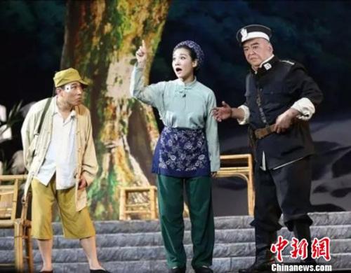 歌剧《江姐》演出剧照。 马海燕 摄