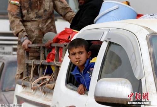 资料图:伊拉克儿童