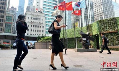 港交所资料图。<a target='_blank' href='http://www.chinanews.com/'>中新社</a>发 邓庆乐 摄
